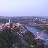 Niagara Falls Border Crossing Bridge ~ view from top of Skylon Tower