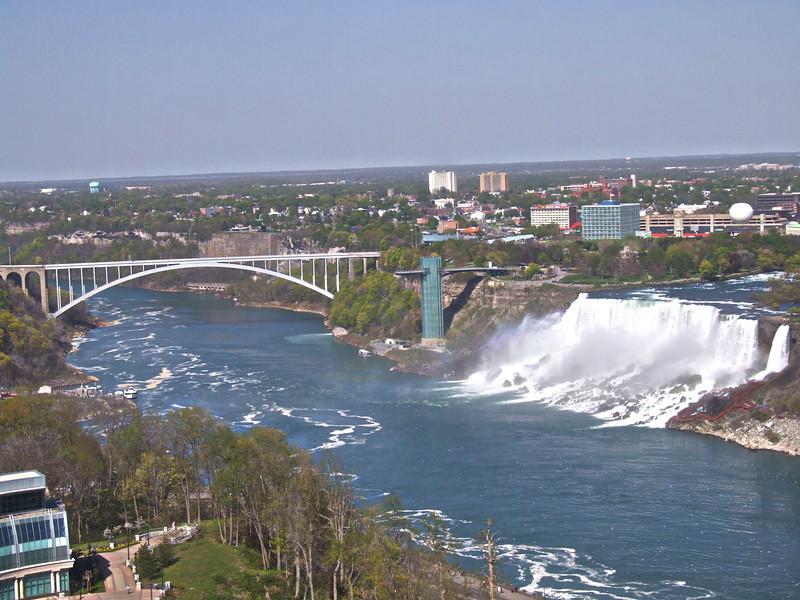 Border Crossing Bridge ~ NY to Canada