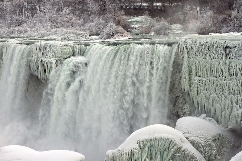 American Falls, Winter