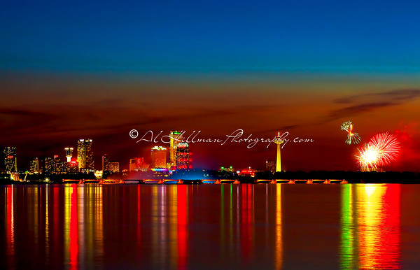 Skyline Fireworks-1