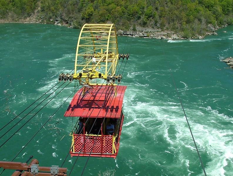 Aero Car over Niagara rapids ~ Canada