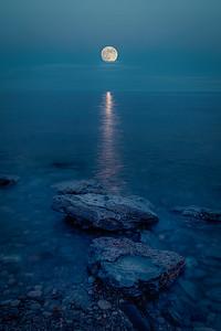 Moon Rise at Morgan's Point - Wainfleet