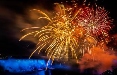 Niagara Falls Fireworks - Niagara Falls