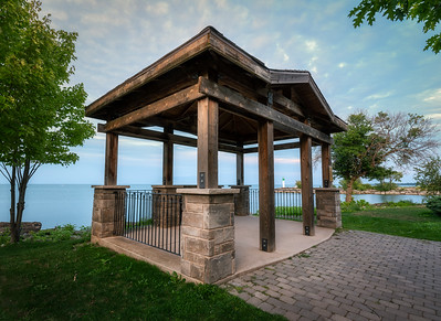 Lookout Pavilion at Forty Mile Creek Park - Grimsby