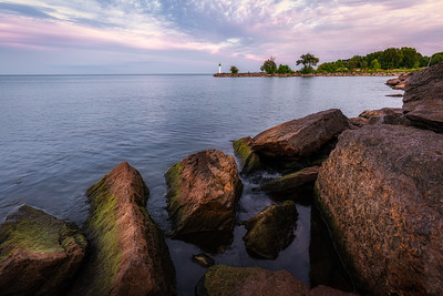 Rocky Shore at Forty Mile Creek Park - Grimsby
