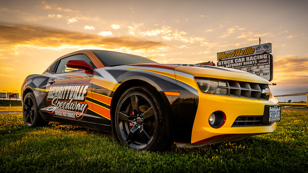 Sunset of Merrittville Speedway