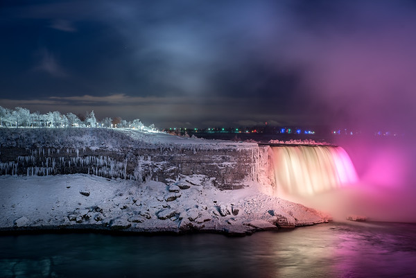Niagara Fall Winter Lights