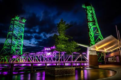 Bridge 13 at Night - Welland