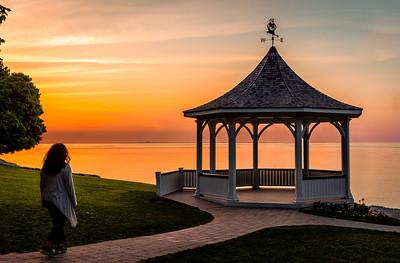Sunset at Niagara-on-the-Lake