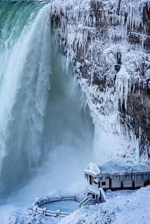 Winter Chill - Niagara Falls