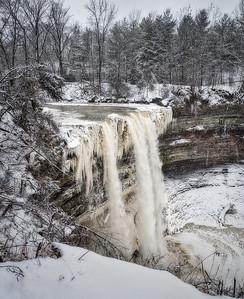 Balls Falls in Winter - Lincoln