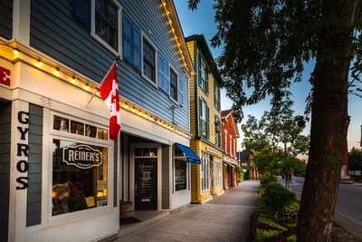 Colourful Store Fronts - Niagara-On-The-Lake