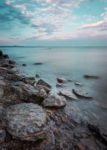 Lake Erie Shoreline at Morgan's Point - Wainfleet