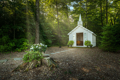 A Tiny Church In Woods - Wainfleet