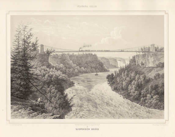 Niagara Falls, Suspension Bridge