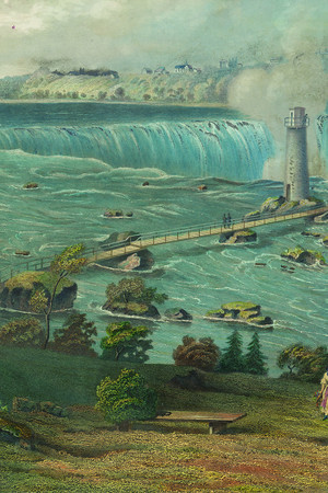 Niagara Falls light tower