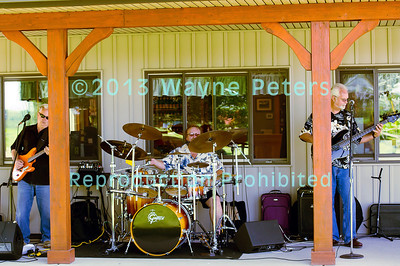 Lakeside Blues Band at Schulze Vineyards and Winery, July 13, 2013