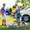 Dog Days of Summer and Yappy Hour at Schulze Vineyards & Winery, August 16, 2015, in Burt, NY.