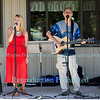 Tom & Sarah Wright at Schulze Vineyards & Winery, August 9, 2015, in Burt, NY.