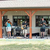 The Timbre Land Whiskey Band at Schulze Vineyards & Winery, Burt, NY on June 18, 2016.
