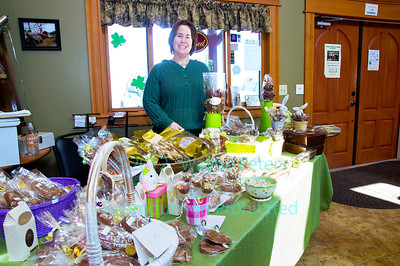 All That Chocolate at Schulze Vineyards and Winery, St. Patrick's Day, 2012