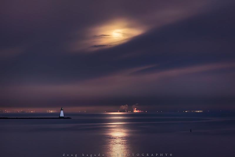 The Setting Moon (#0401)