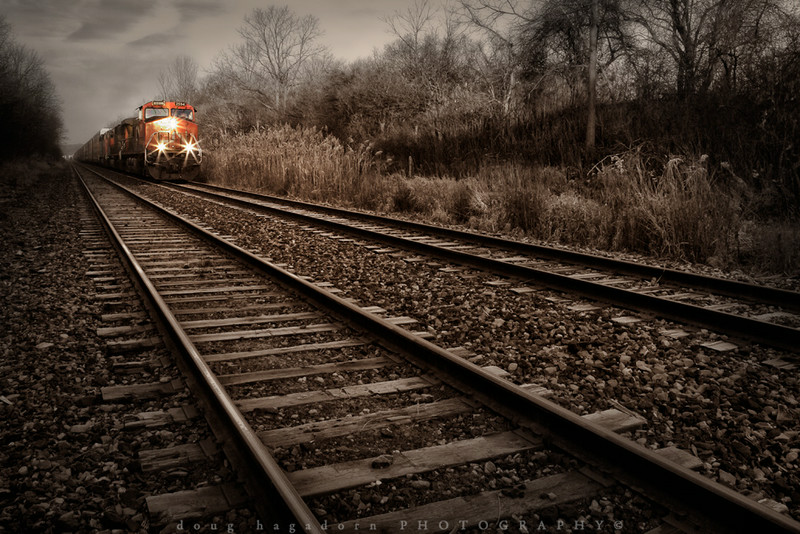 Haulin' Down The Tracks (#0208)