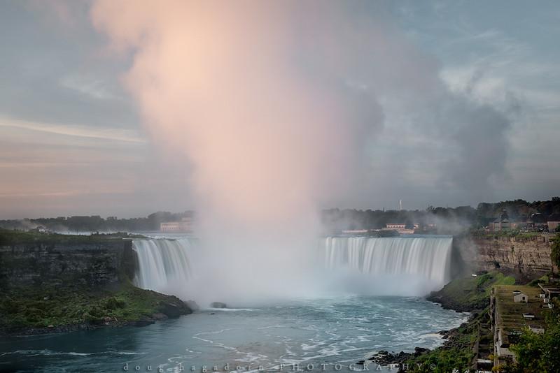 Pastels Over Niagara (#0623)