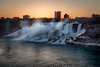 Springtime Sunrise Over Niagara