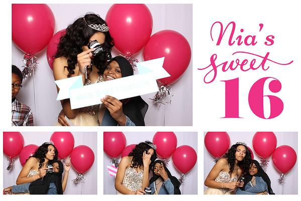 Nia's Sweet Sixteen