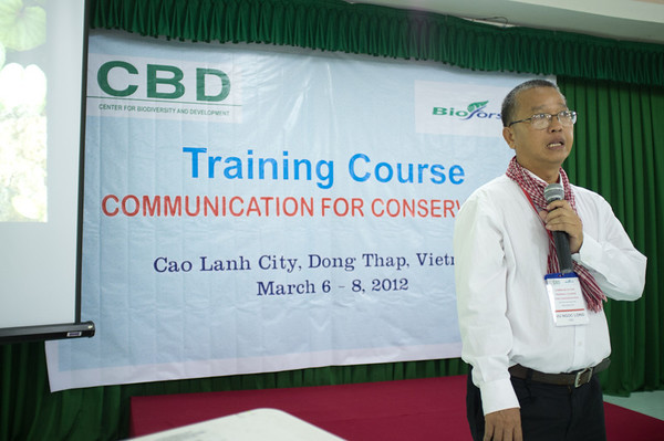 Training Course Cao Lanh March 2012