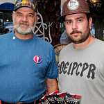 Vernon Warner and Jason Abercrombie with Cigars for Warriors.