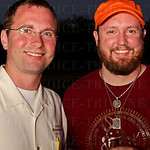 Mike Fisk with Cox\'s Smokers Outlet and Spirit Shoppe and Ben Pearson with Drew Estate.