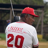 Baseball player listens to national game on radio, Pearl Lagoon (Laguna de Perlas), Nicaragua.