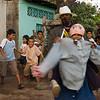 Street performers in Granada, Nicaragua