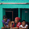 Passengers wait for boat at the terminal, Bluefields, Nicaragua.