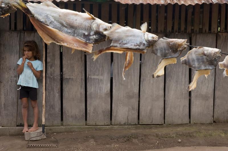 Fisherman's daughter, Solentiname, Nicaragua.