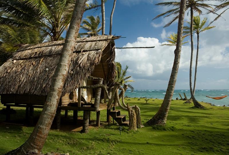 Derek's Place, Little Corn Island, Nicaragua.