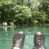 """Crocs were a MUST for me IN the AWESOME waters at Oja de Agua - <a href=""""http://OjoDeAguaOmetepe.com/"""">http://OjoDeAguaOmetepe.com/</a> - on Isla Ometepe in Nicaragua - a river of clear water (but with rocks at the bottom - OUCH without my Crocs!!) with medicinal properties that rejuvenate your skin!! (from my Trip Pics at <a href=""""http://SarongGoddess.com/Travel/OmetepeNicaragua-August12"""">http://SarongGoddess.com/Travel/OmetepeNicaragua-August12</a>"""