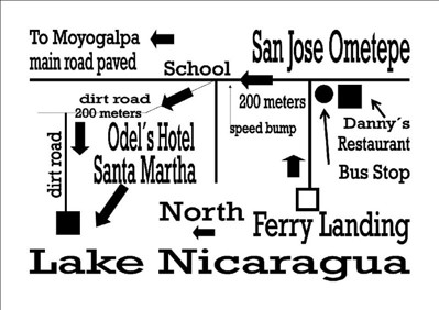 SAN JOSE de Ometepe FERRY LANDING