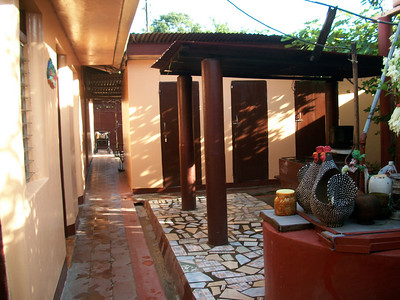 WHERE TO STAY??  **Hospedaje LIDIA (2-563-3477 / 8-947-0011) WiFi, TV (SOMETIMES there is MAYBE 1 show in English), fan.  You can purchase breakfast.  RATES:  $10/pp w/shared bathroom.  Private bathroom - $15/1, $23/2) - OWNER•MANAGER:  Manager-Maritza, Owner-Lidia LOCATION:  From the gas station (I THINK it's now Uno [it was Texaco]) on the West side of the road (across the street from where you get off the buses from CR) - at that corner turn West-Right (going into Centro) & she's a few doors down (last time I was there it was a peach colored non-descript building).  (this is where I STAY when I'm just wanting a quick overnight Visa turn-around!!)   Area to rooms