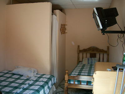 WHERE TO STAY??  **Hospedaje LIDIA (2-563-3477 / 8-947-0011) WiFi, TV (SOMETIMES there is MAYBE 1 show in English), fan.  You can purchase breakfast.  RATES:  $10/pp w/shared bathroom.  Private bathroom - $15/1, $23/2) - OWNER•MANAGER:  Manager-Maritza, Owner-Lidia LOCATION:  From the gas station (I THINK it's now Uno [it was Texaco]) on the West side of the road (across the street from where you get off the buses from CR) - at that corner turn West-Right (going into Centro) & she's a few doors down (last time I was there it was a peach colored non-descript building).  (this is where I STAY when I'm just wanting a quick overnight Visa turn-around!!)   Room for 2-3 with private bathroom (first room on your left [where I stayed my first trip])