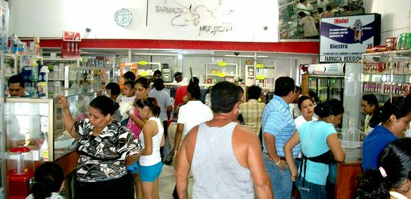 PHARMACY / FARMACIAS Meridional / La Baratera (FMeridional1@yahoo.es)   THE BEST PRICES & usually PACKED!!  4 locations in Nicaragua (2 in Rivas) Also in: Rivas (2-563-3453 / 2-536-1073)  •  (2-563-5367 / 2-563-5276) Leon  (2-315-1929 / 2-311-1003 / 2-311-1293)  Masaya  (2-522-0132 / 2-522-2455)  -  LOCATION:  Bac 1-1/2 C al Este