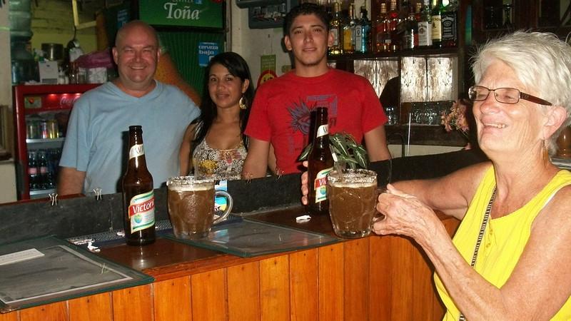 OMGodess!!  My FAVORITE Michalado (beer, lime juice & salsa Lozano!!!!)!!!  SOOOO refreshing (& I'm SOOOO NOT a beer drinker)!!  & JUST $1.50!!!
