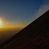 Sunset on Volcan Telica, Nicaragua