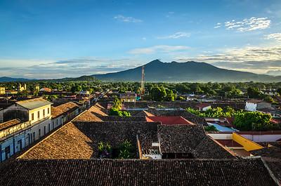 View of dormant Volcano Mombacho.