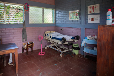 The OBGYN room at the FIMRC clinic.