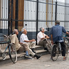 Elderly men and bicycles, Granada, Nicaragua