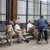 Elderly men and bicycles, Granada, Nicaragua
