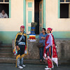 Dressed for the Feast of Saint Sebastian festival, Diriamba, Nicaragua